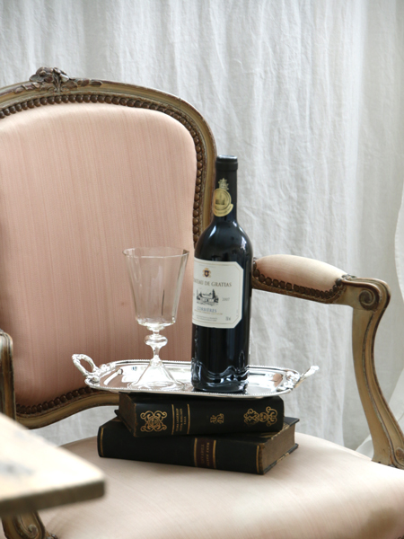 TERUSKA AntoinetteワイングラスM スモーク