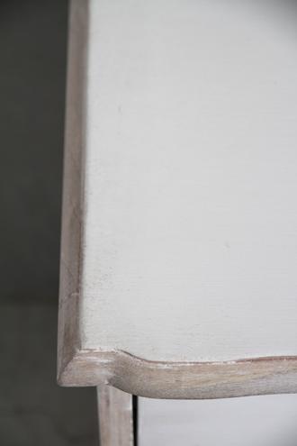 BLANC D'IVOIREサイドテーブルTARA ホワイト
