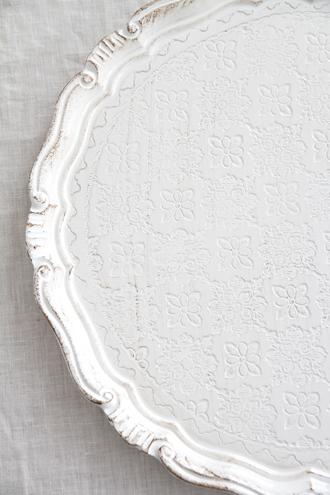 フィレンツェトレーラウンドホワイトflower