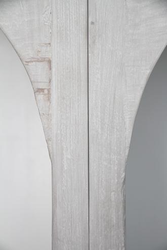 Blanc NatureブックシェルフCharlotte(3ユニット)フレンチグレー