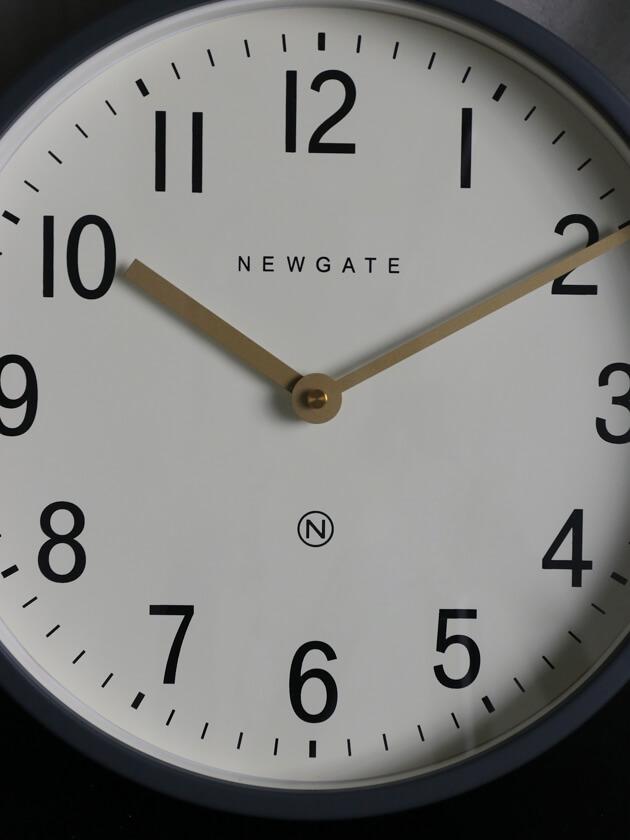 NEW GATEウォールクロックMASTER EDWARDSグレー30cm
