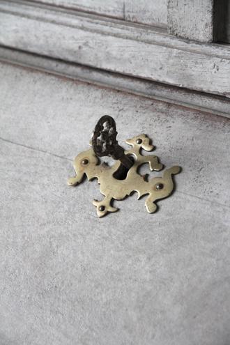 【配送地域限定】Gustavian Antiqueビュロー1750年代