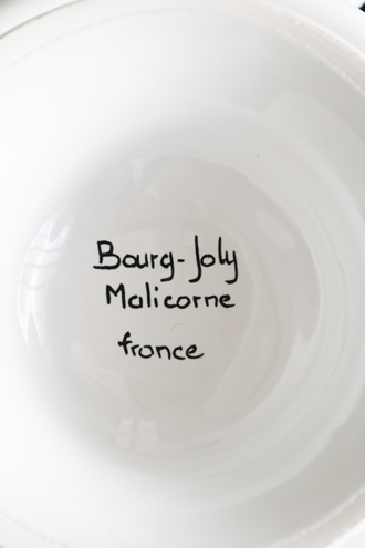 Bourg-Joly MalicorneバスケットBourg-Joly Decoupage