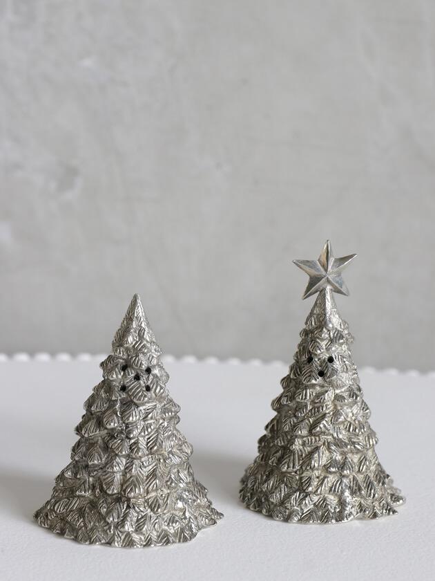 Sarah pewterソルトアンドペッパー ChristmasTree