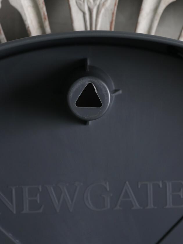 NEW GATEウォールクロックMR BUTLERオールダークグレー45cm