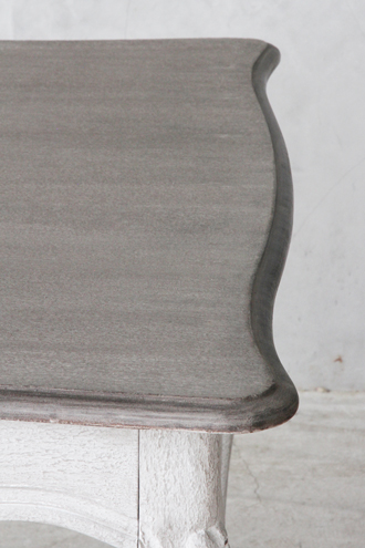 BLANC D'IVOIREダイニングテーブルJOANNA180cmアンティークグレーTOPブラウングレーfacon chene