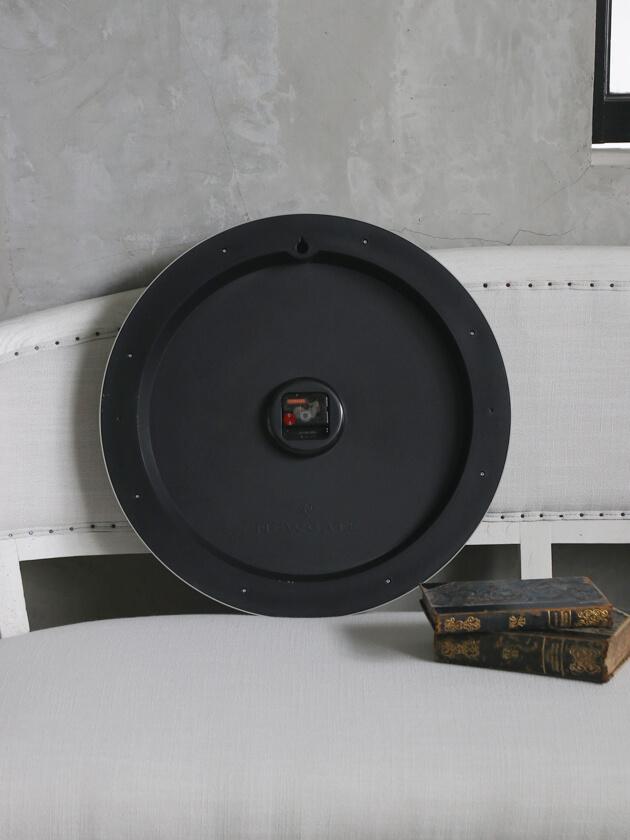 NEW GATEウォールクロックCHOCOLATE SHOPオールグレー50cm