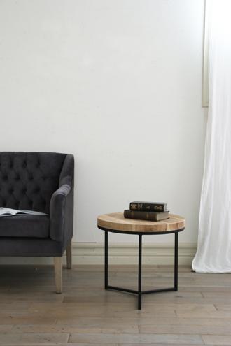 sofa dome アイアンサイドテーブルトップオールドウッド