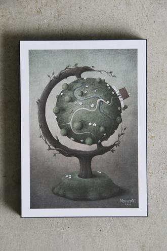 INCADOアートブロックMemory Art 15x21cm