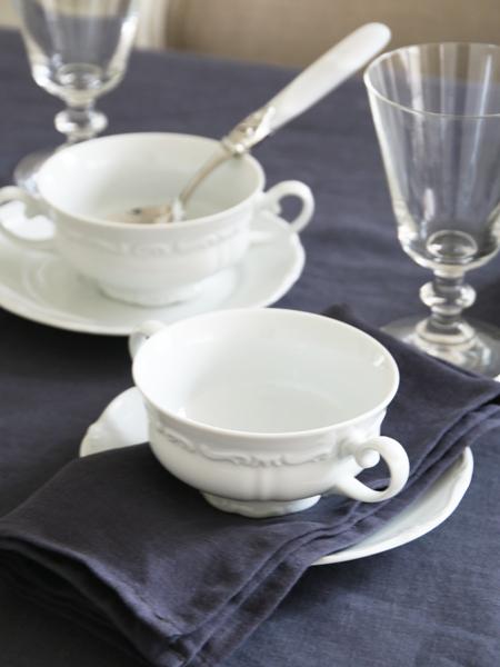 ライヒェンバッハ スープカップ&ソーサーバロック