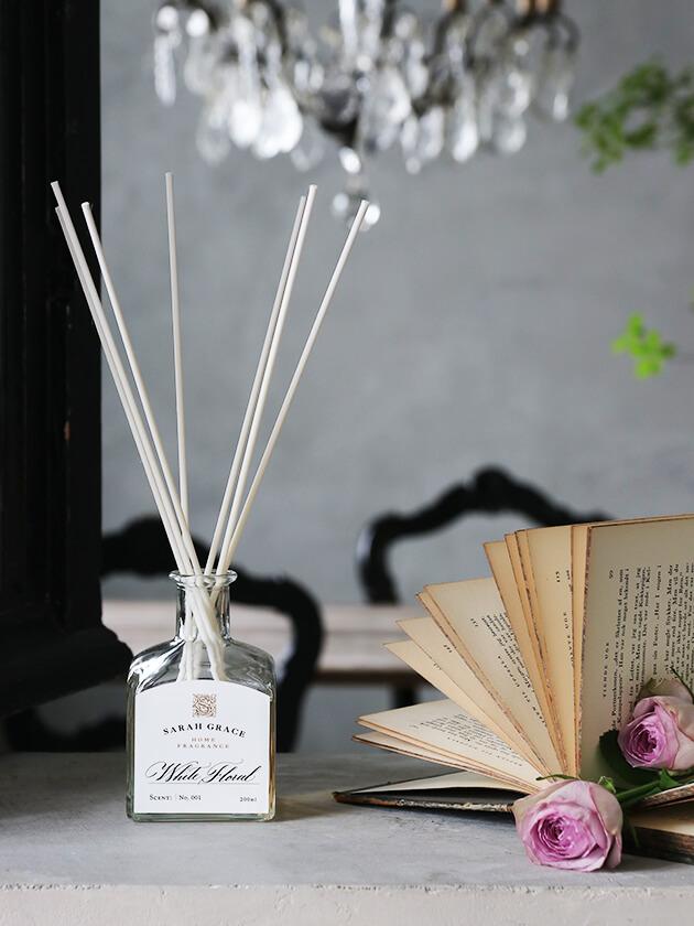 Sarah Graceオリジナルリードディフューザー White Floral