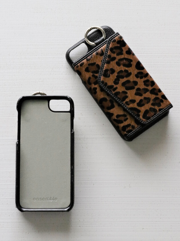 iPhone6/6s/7/8/SE2ケースensemble PORTEハラコ
