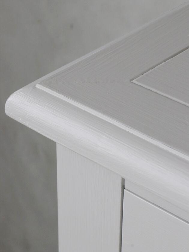 SGDコンソールテーブル3段ドロワー付きグレー