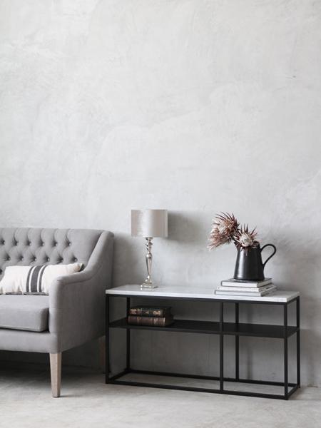 sofa domeアイアンコンソールトップホワイトマーブル