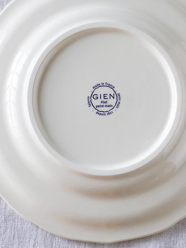 Gienディナープレート Filet MANGANESE