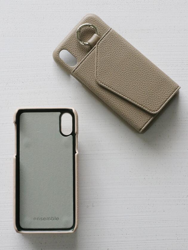 iPhoneX/XSケースensemble PORTE