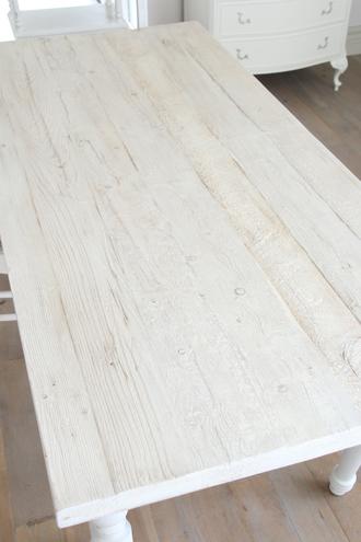 Blanc Natureダイニングテーブルシャビーホワイト