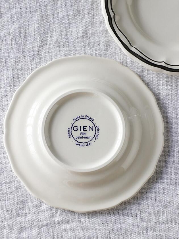 Gienパン皿Filet  MANGANESE