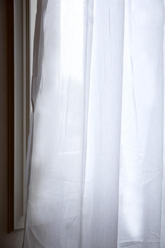 カーテンISABELLE WHITE130x300cm