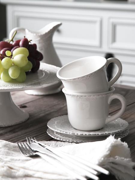 ELIOS FINEZZAカップ&ソーサーホワイト