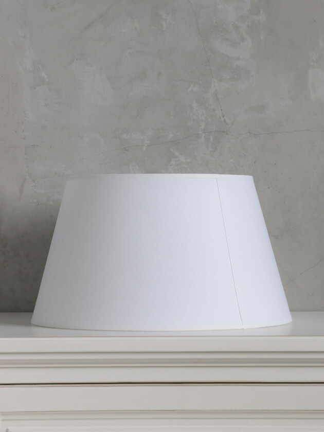 BLANC D'IVOIREシェードConicalホワイト35cm