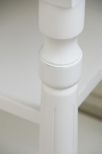 SGDコンソールテーブル3段ドロワー付ホワイトTOPナチュラルCn