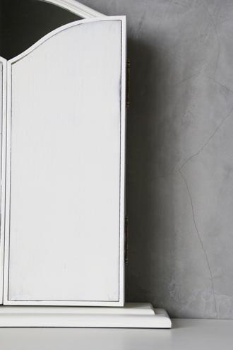 【アウトレット品】Sarahドレッサーミラーホワイト