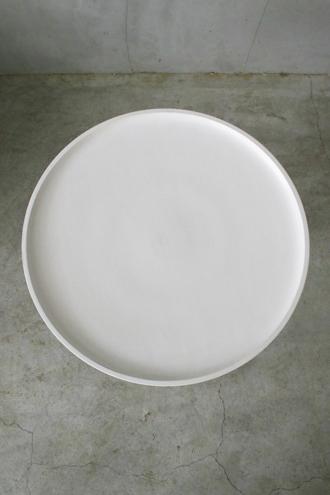 BLANC D'IVOIREサイドテーブルSAMホワイトM