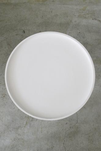 BLANC D'IVOIREサイドテーブルSAMホワイトS