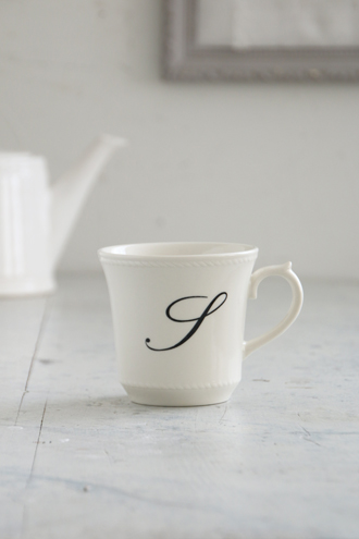 Sarah Graceイニシャルマグカップ