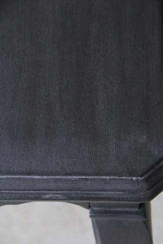 BLANC D'IVOIREテーブルAUGUSTINE ブラックS