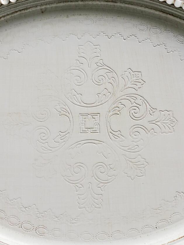 フィレンツェトレーオーバルホワイトMirage