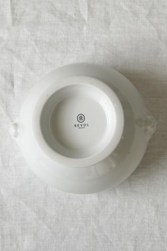 REVOLライオンヘッドスープボウルホワイト L