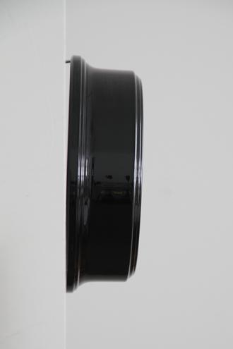 NEW GATEウォールクロックPETITE GALLERY ブラック22cm