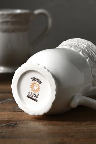ELIOS FINEZZAマグカップクリーム