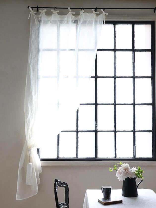 Lene BjerreカーテンLivenaオフホワイト250x140cm