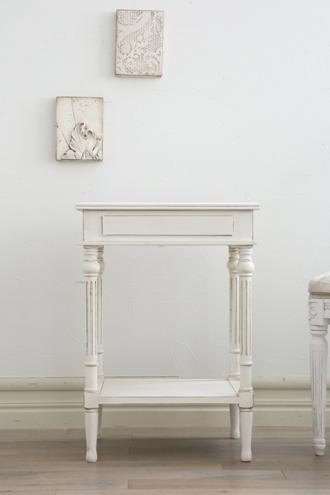 ClassicサイドテーブルVeraホワイト