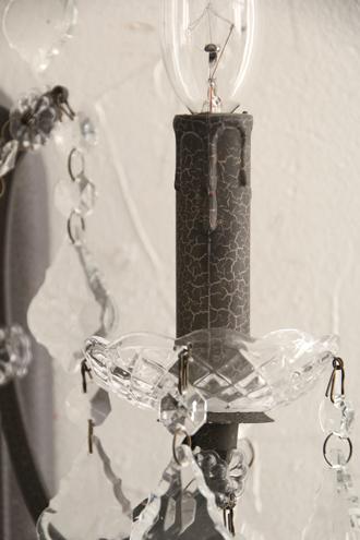 SGDウォールランプ3灯Emmaシャビーグレー