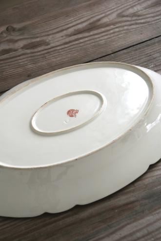 フレンチアンティークオーバル大皿