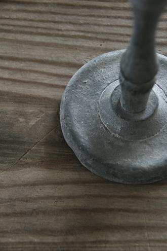 Affari キャンドルホルダーNOAHグレー16cm