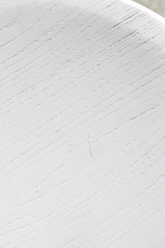 Blanc Natureスツールアジャスター付きホワイト