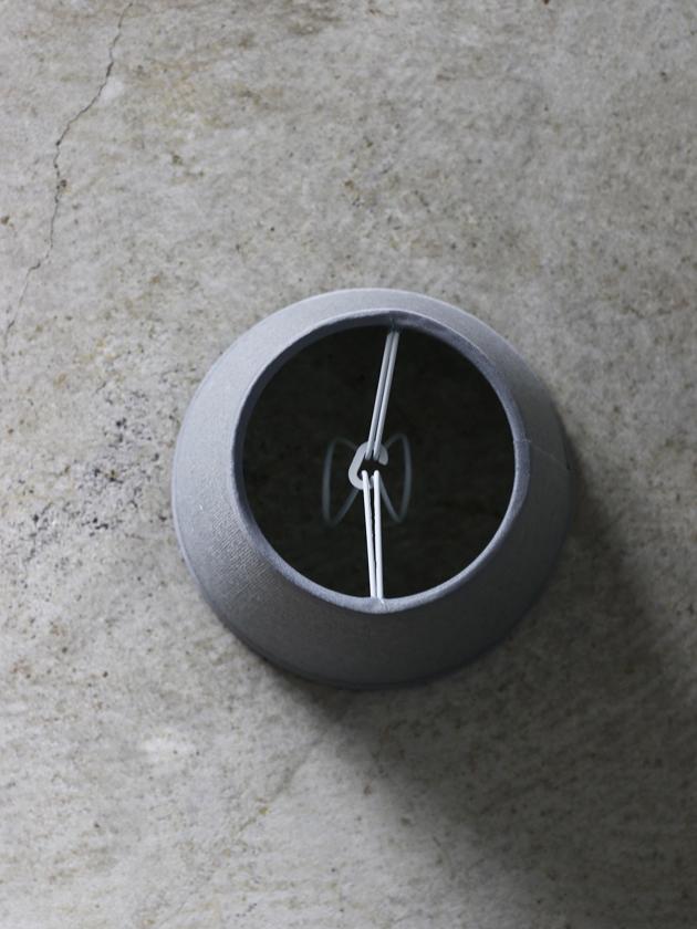 QUAINT&QUALITYクリップシェードグレー12cm