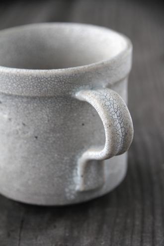 fractalマグカップ ホワイト