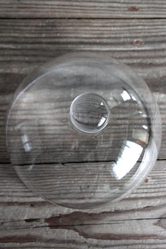 Baci MilanoラウンドドームCrystal Touchクリア20.3cm