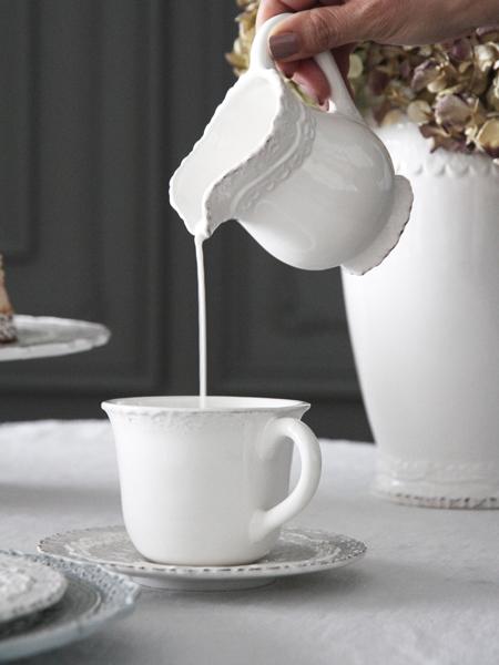 ELIOS FINEZZAミルクポットホワイト