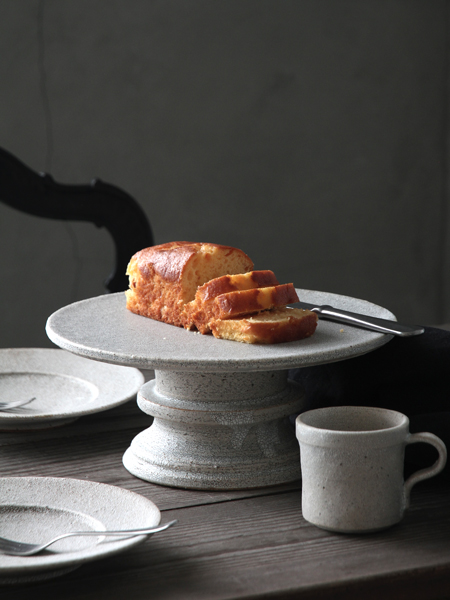 fractalケーキスタンドL ホワイト