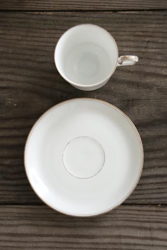 フレンチアンティーク カップ&ソーサー