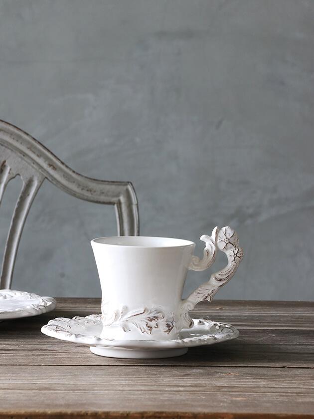 ELIOS MYFLOWERカップ&ソーサーホワイト