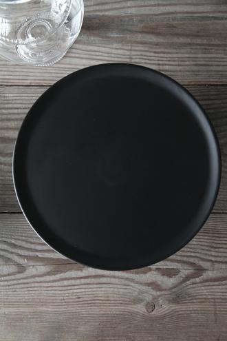Baci MilanoケーキスタンドCrystal Touchブラック29.6cm