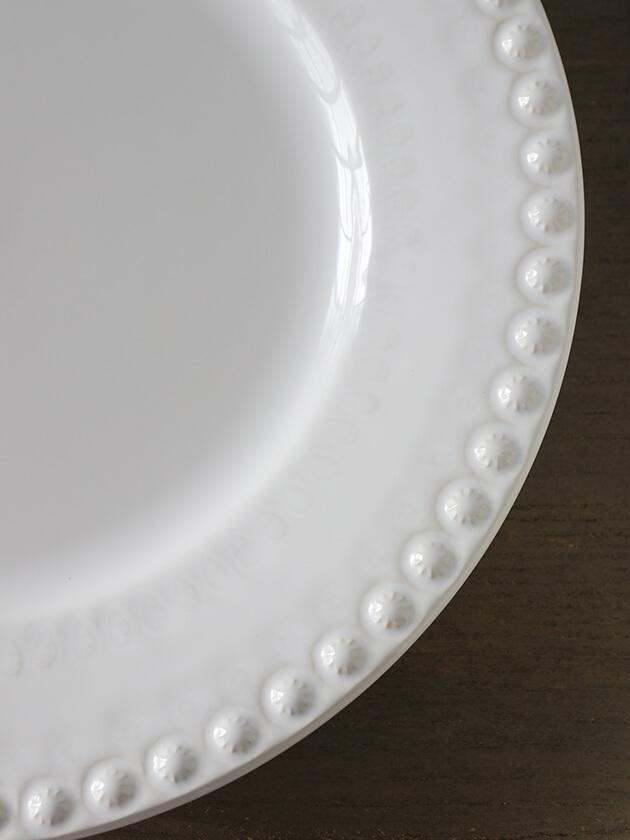 PotteryJoディナープレートDAISYホワイト29cm